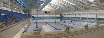 The british octopush association leeds new pool for Leeds international swimming pool